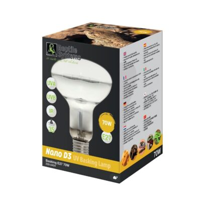 Reptile Systems D3 UV Basking Lamp – 160w