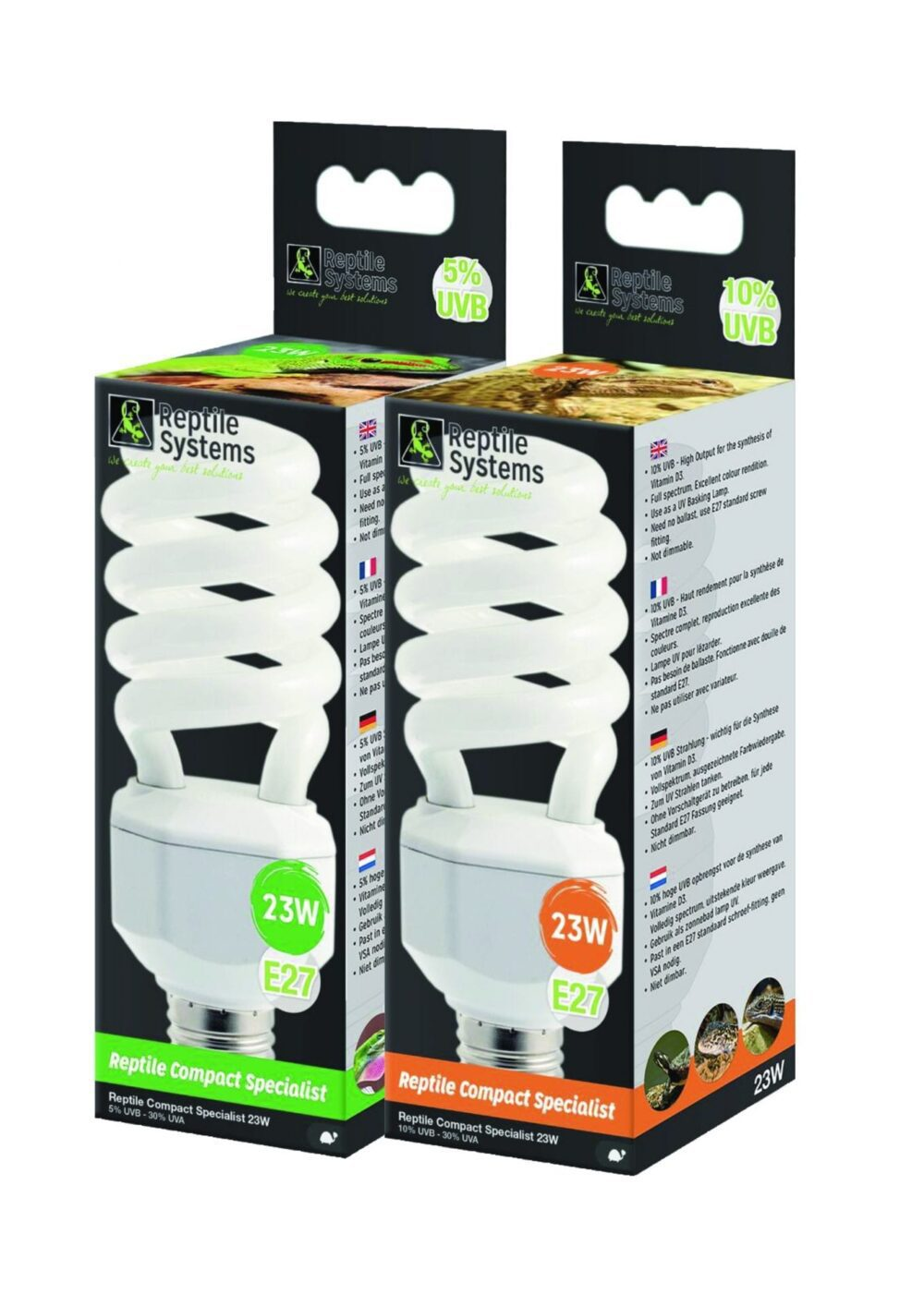 Reptile Systems Compact Lamp Specialist 23w UVB