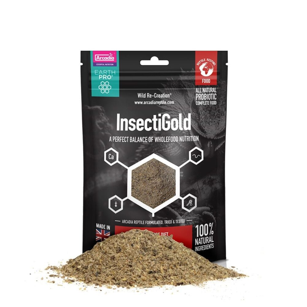 Arcadia Earth Pro Insecti Gold, 300g Dry Foods