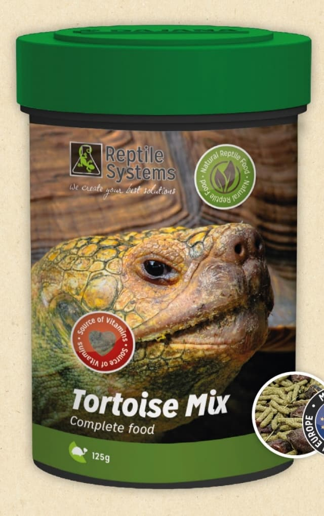 Reptile Systems Tortoise Mix Dry Foods